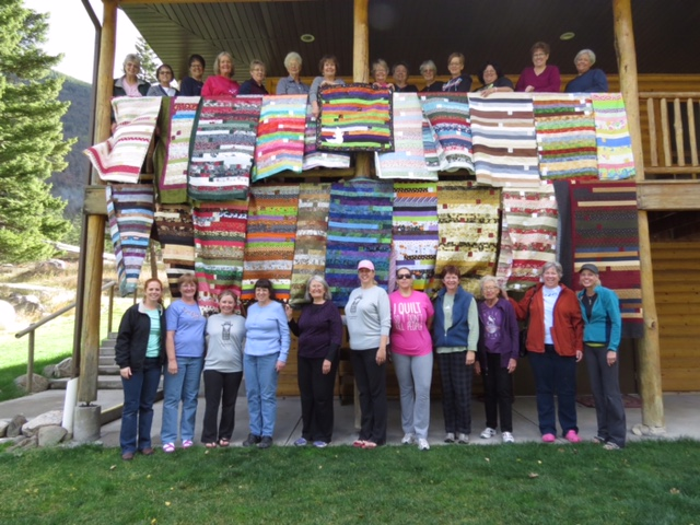 The Annual Quilting Retreat