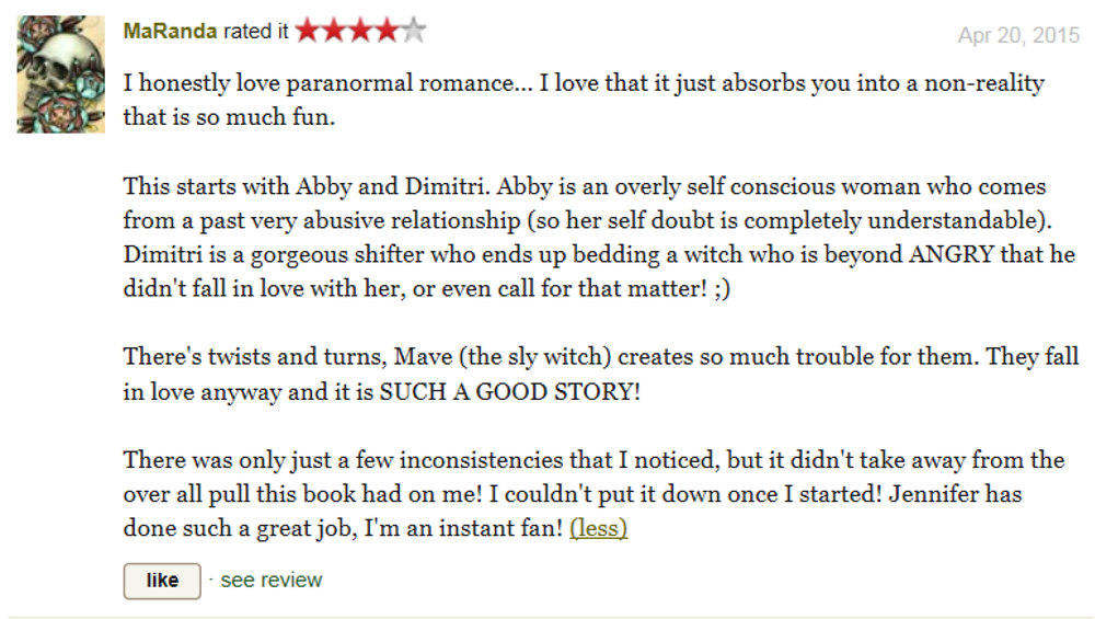 Goodreads review from maranda.jpg