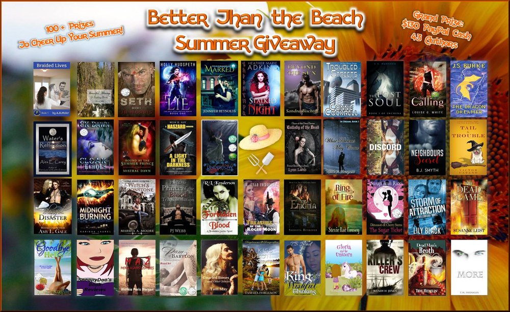 Better than the Beach Summer 2017 Giveaway  80+ Prizes: Books, Gift Cards, & More  Free to Enter  $130 Pay Pall Cash Grand-prize   http://bit.ly/2rO28St