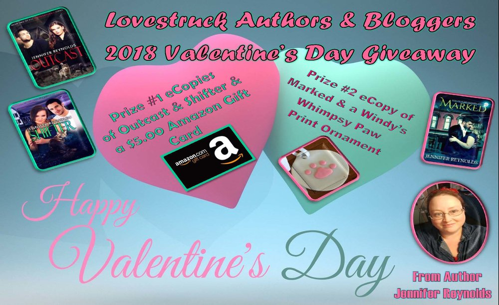 2018 Love Struck Author's & Bloggers Valentine's Giveaway  33 Prizes. 33 Books.  $100 Paypal Cash Mega Grand Prize  The link:  http://bit.ly/2mbD9U9   https://www.facebook.com/ally.mac.142/videos/10213022196541346/?hc_location=ufi