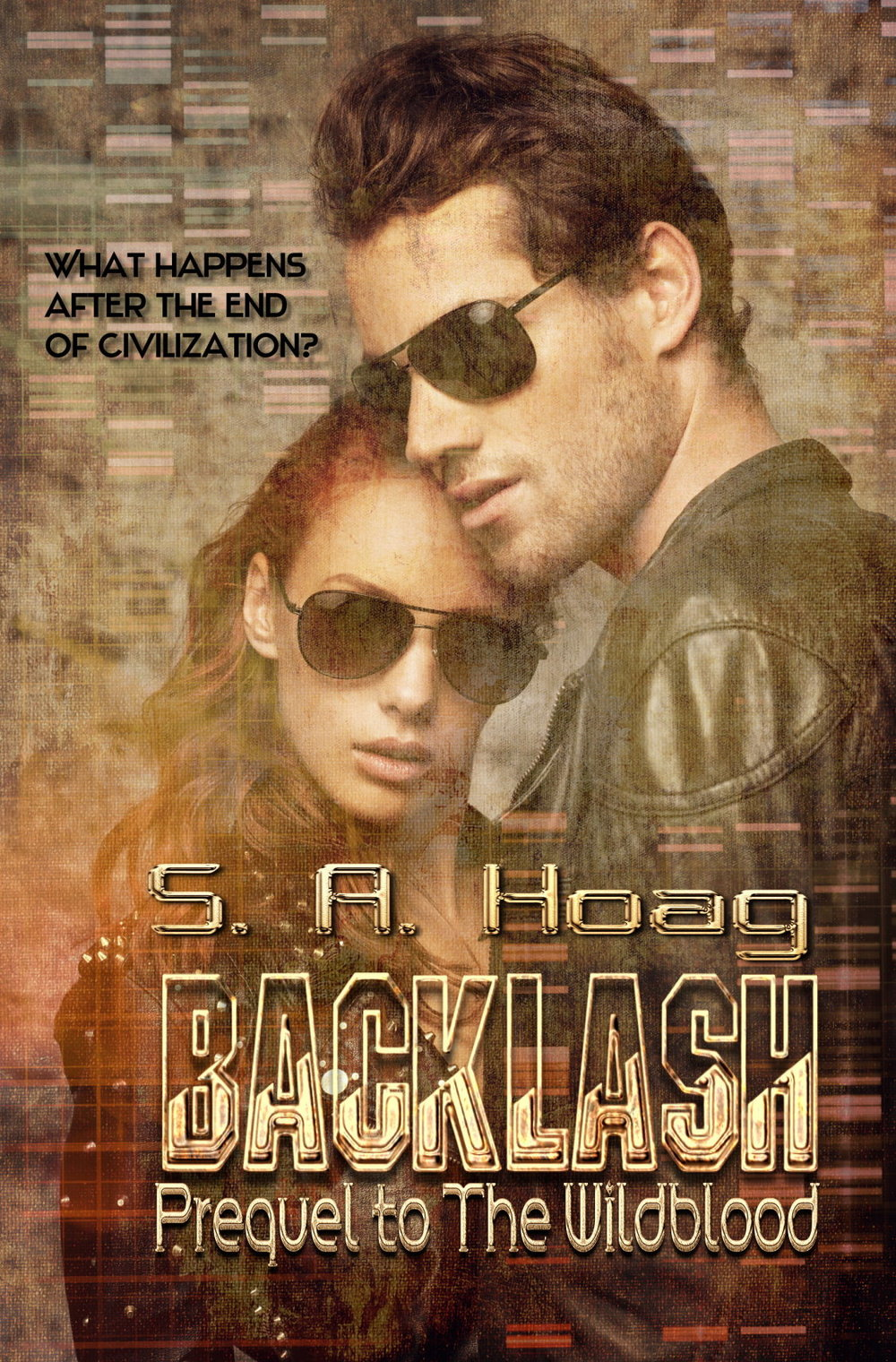 "Before Team Three, there was The Blackout.  Backlash , prequel to The Wildblood.   https://www.amazon.com/gp/product/B0104VMFI4   https://www.kobo.com/us/en/ebook/backlash-39   https://itunes.apple.com/us/book/id1012444527   https://www.barnesandnoble.com/w/backlash-s-a-hoag/1127070486   https://www.books2read.com/u/3JBdB3  https://www.smashwords.com/books/view/686270 http://www.topaz08.com/Backlash.html    All are available in paperback and eBooks  –    www.topaz08.com   Excerpt  (Backlash: Prequel to The WIldblood)   ""Shannon,"" her radio crackled static, snapping her out of a restless sleep. It was Wade on his private channel.   ""Go ahead,"" she answered groggily. Her watch read 9:30 pm and she was supposed to go on duty at 2:00 am. An hour - she'd been asleep an hour.   ""Gear up. I'll be there in five minutes to get you.""   ""What's going on?"" she wondered, rubbing her eyes.   ""Don't ask, just do.""   He didn't sound like they might be playing wargames. Shan moved.   Her mother was in the kitchen. Deirdre Allen was five foot three, with pale blond hair, hazel eyes, and was one of The Vista's actual doctors. She'd been twenty-nine when civilization ended. ""The hospital just called me in,"" she announced. ""Are you on-call?""   ""I am now. Wade didn't tell me why.""   ""War games?""   ""No,"" Shan told her. ""Not this time. I know you don't like carrying, but I think this is serious. Take a sidearm, Mom, please.""   Deirdre nodded. ""For your peace of mind I will."" She knew how to use it; she'd been forced to in the past and hoped she never would again. ""Whatever it is, be careful.""   ""I am, and Wade wouldn't let me get away with anything else.""   She hugged her. ""I mean it.""   ""I'll see you in the morning,"" Shan said, hearing a car. ""That's Wade. If he tells me it's practice, I'll let you know."" She didn't think it was likely, but he'd fooled her before.   The moment she dropped into the passenger seat, she knew it was real. ""Can you tell me now?"" She'd dressed in winter camos with body armor, both Sigs and a boot gun, clips in all her pockets, plus an array of knives. Her pack held spare ammo, food rations and various bits of survival equipment.   He glanced sideways at her, heading towards Station Two with a purpose. ""We lost a Scout at Wisdom about an hour ago.""  ""Lost?"" she repeated, not expecting it.   ~ ~ ~ ~ ~"