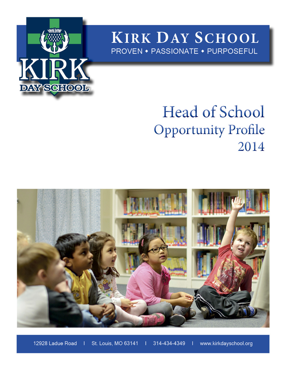 Read the Head of School Opportunity Profile
