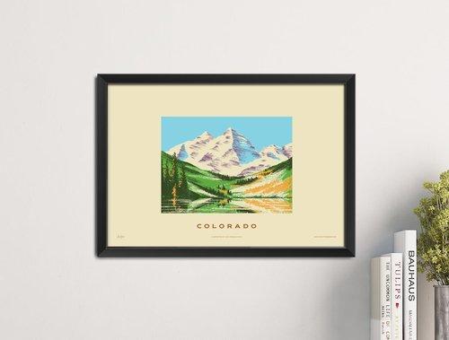 Colorado State Print - Rocky Mountains — Familytree
