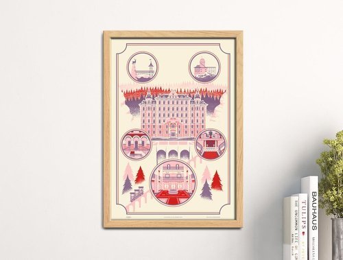 The Grand Budapest Hotel Print — Familytree