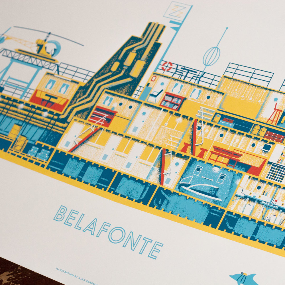WES ANDERSON - Prints inspired by the intricate sets of Wes Anderson movies