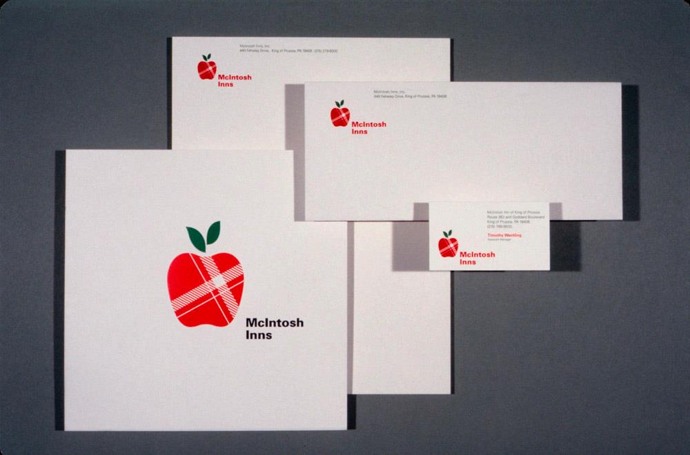 Stationery for McIntosh Inn