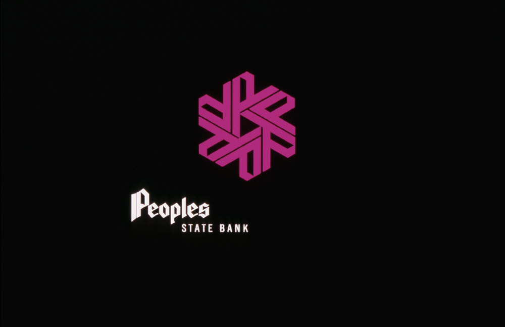 Peoples State Bank mark and logotype