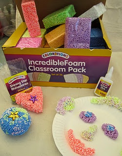 IncredibleFoam® Dough: Delightful, No Mess Art
