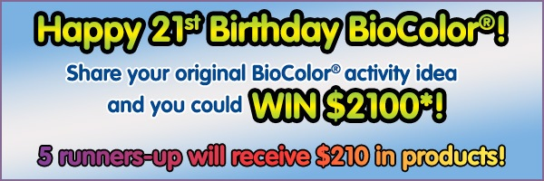 CT Calista White BioColor 21st Birthday Post Banner