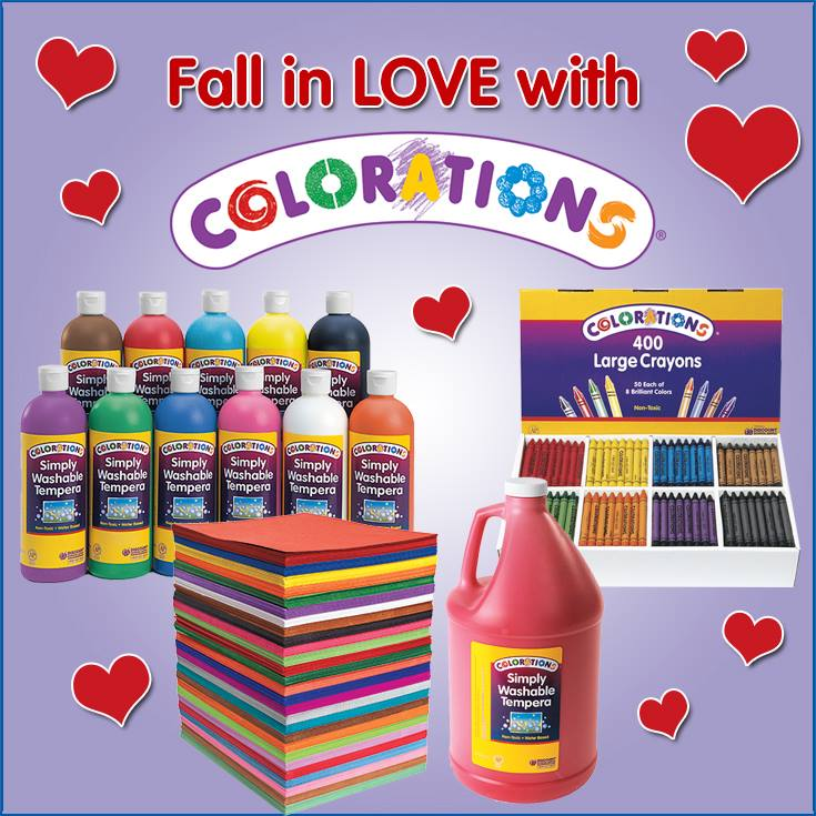 Feb 2014 Colorations Giveaway
