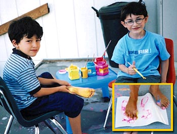 feetpainting