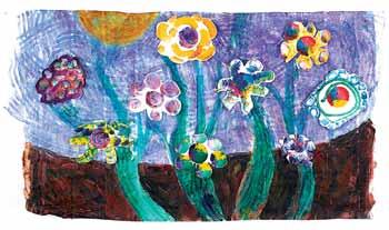 flowermural