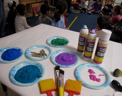 Foam Paint Fun!