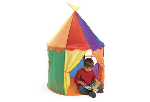 Items You Love at Prices Youu0027ll Adore!  sc 1 st  The Teachersu0027 Lounge - Discount School Supply & Featured Review! The Pop Up-Rainbow Circus Tent u2014 The Teachersu0027 Lounge
