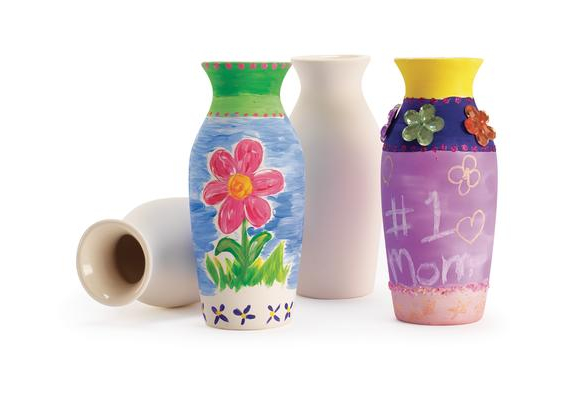 Decorative Ceramic Vases - Set of 12