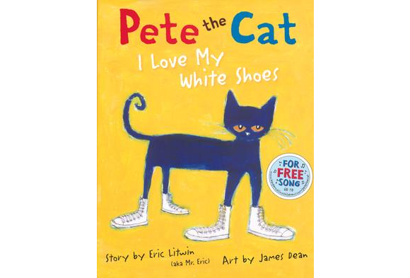By Eric Litwin and illustrated by James Dean      $16.49
