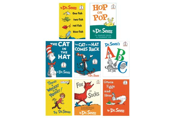 Dr. Seuss Books - Set of 8    $69.99