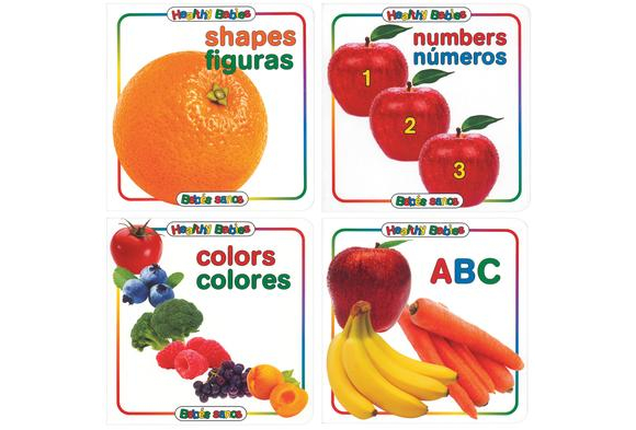 Bilingual First Board Books - 4 Titles