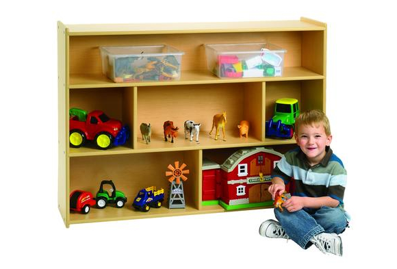 Angeles Value Line™ School Age Divided Shelf Storage  Item # V7150