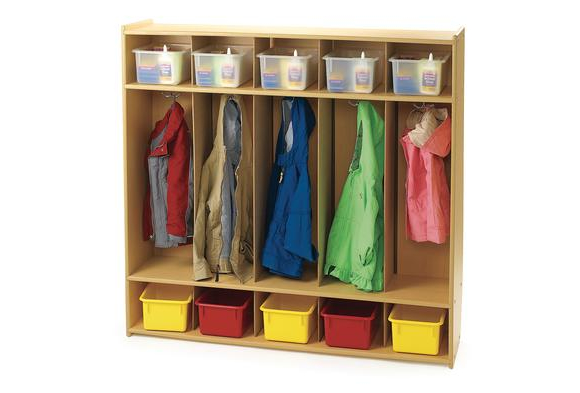 Angeles Value Line™ 5-Section Locker  Item # V7154