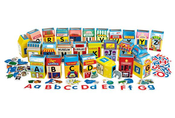 Excellerations® Alphabet City Sorting Center - 182 Pieces   Item # ABCCITY  YourPrice:  $39.99