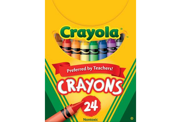 Crayola® Regular Crayons - Set of 24 (Item #C24)    YourPrice:  $1.99   (before 15% discount)  Compareat: $2.32