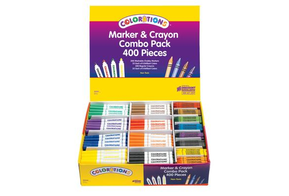 MARCRAY  – Colorations Markers & Crayons