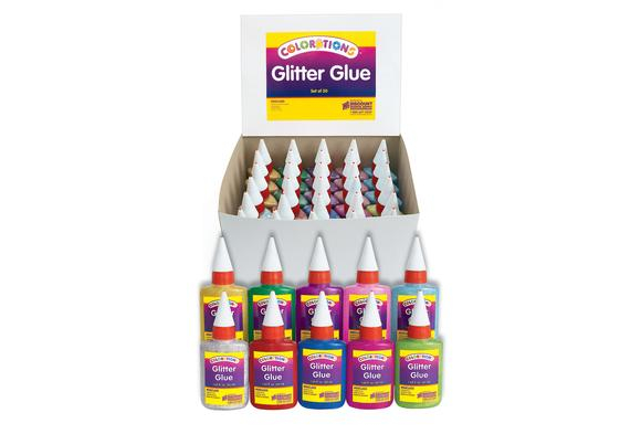 GGCLASS  – Colorations Glitter Glue Classroom Pack