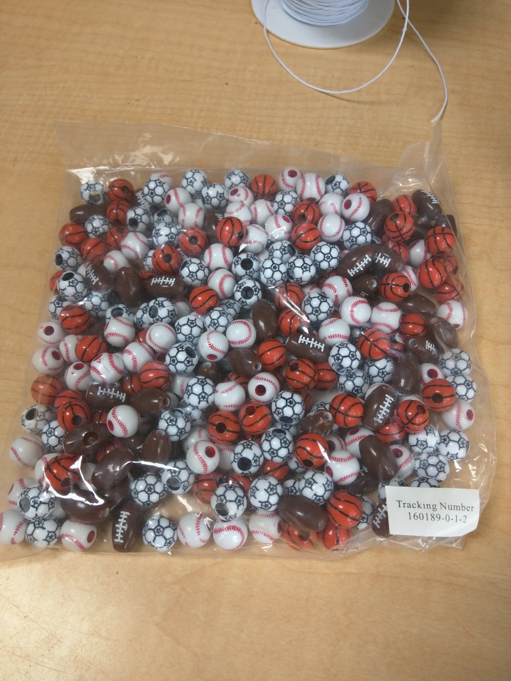 Super Sport Beads - 1/2 lb. Item # SPORTBDS