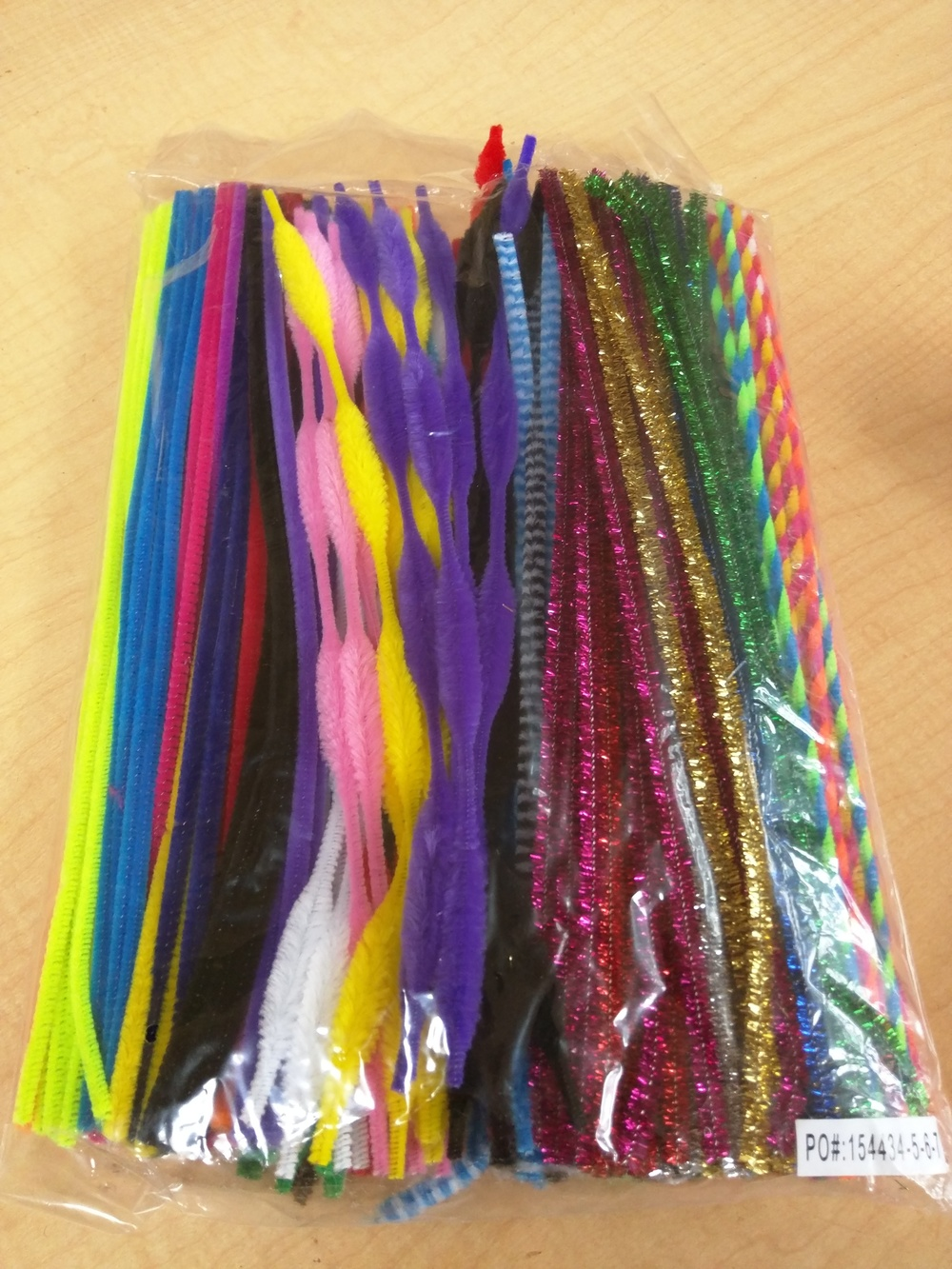 Pipe Cleaner Classroom Pack - 250 Pieces Item # PCPACK