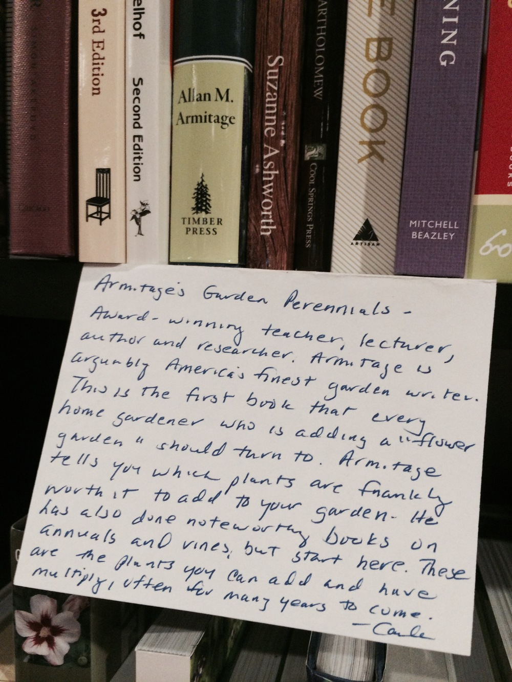 Gracious words of a Literati Staff member
