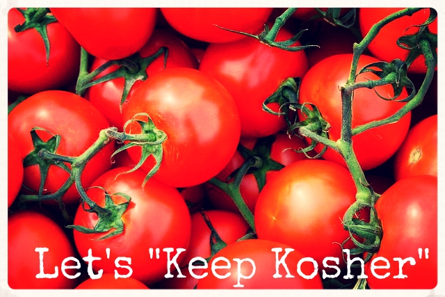 "Let's ""Keep Kosher"""