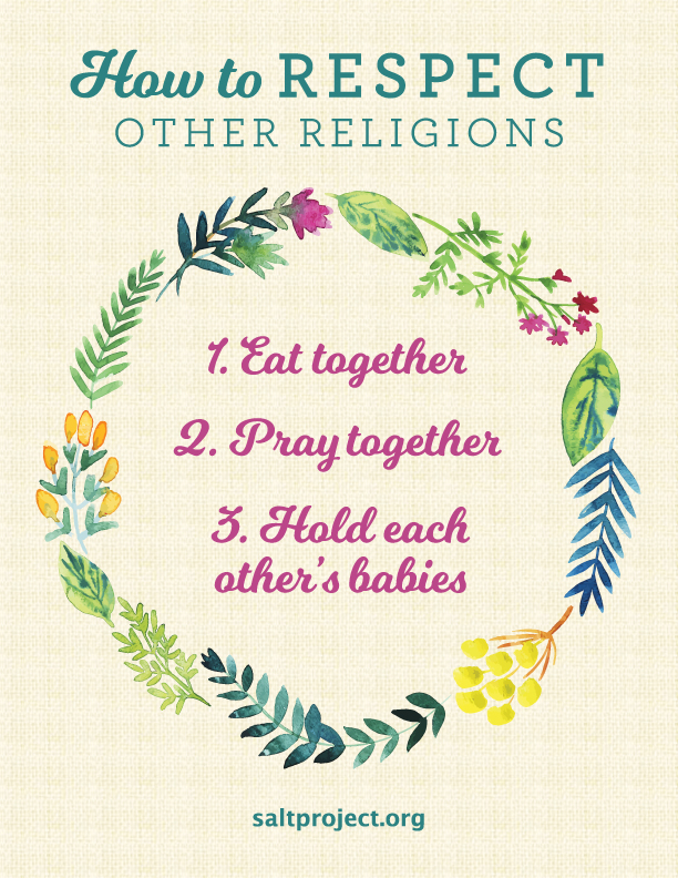 How to Respect Other Religions