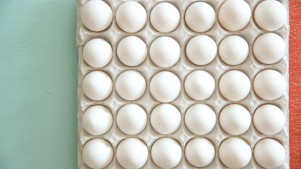 DIY Naturally Dyed Free Range Eggs