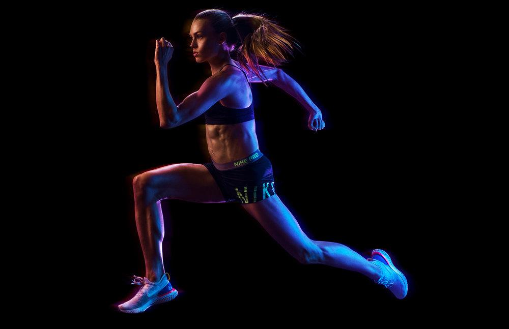 Nike Runner - Colleen Quigley©