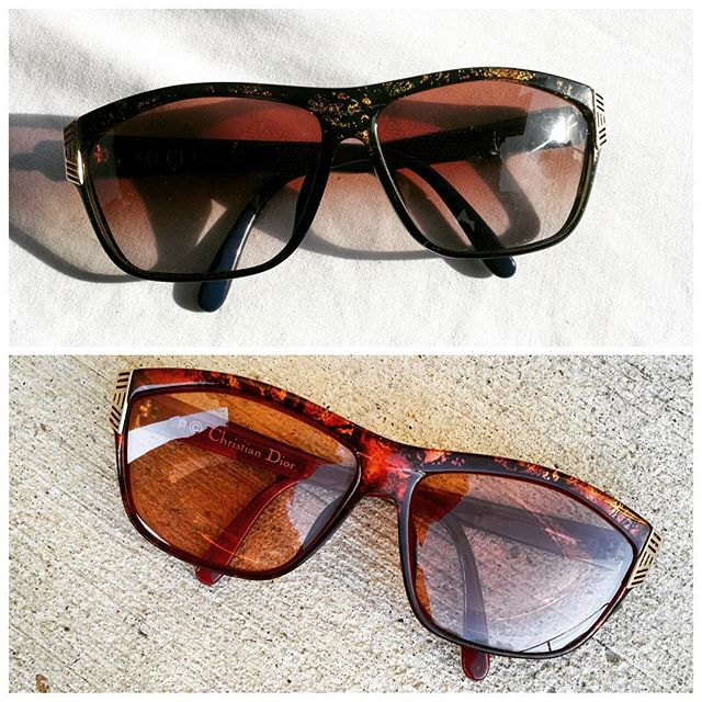 Vintage Christian Dior Shades for the Haters. #noshade #lookoftheday #outfitoftheday #sunglasses #shades #vintage #ilovevintage #oldschool #swagger #fashionblogger #lifestyleblogger #christiandior #dior #noshade #shine #fashionovereverything