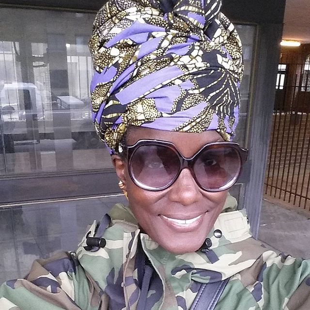 Have a Great Week and Make sure to make it Fashionable. #headwrap #blackisbeautiful #namaste #turban #thewraplife #liveyourlife #camouflage #ek #emmanuellekhanh #loveyourstyle #beuniquelyyou #ootd #lookoftheday #vintagefashion #smile
