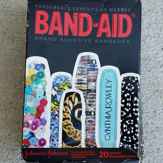 The Band-Aid for Fashionista's. #bandaid #cynthiarowley #stylefiles #ootd #lookoftheday #designer #bestdressedlist #bebold #swagger #bold #texture #myfavoritethings #rockthis #instagram #colors #fashion #fashionblogger #lace #luxe #glitter #sparkle