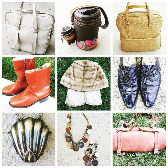 Good Morning. I'll be posting some nice Vintage items on my InstaStore account @malondastreasures today so be sure to follow me for updates. #vintagecoins #vintageaccessories #instashop #instastore #vintageforsale #frye #fryeboots #vintageboots #vintagesale #dcvintage #thriftsale #handbagsale #alligator #toolbag #furcape #minkstoll #metalpurse #gator #thermos #vintageluggage #goodmorning