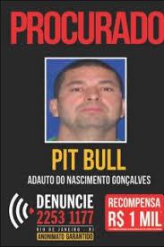 """Wanted poster of drug trafficker Adauto """"Pitbull"""" do Nascimento Gonçalves, who police say escaped from prison and fled to Pavão-Pavãozinho. Source: Disque-Denuncia"""