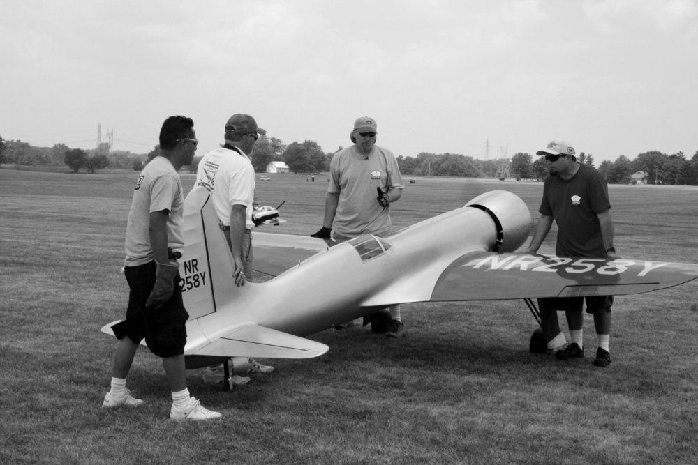 Hughes Racer Model