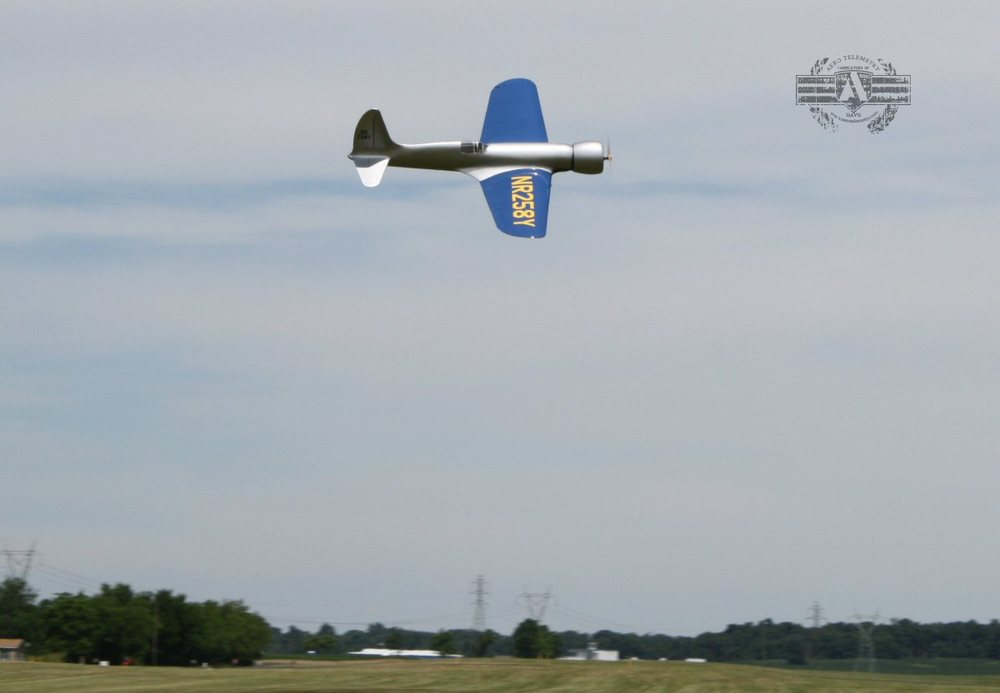 Aero H1 Racer AMA flyby airshow