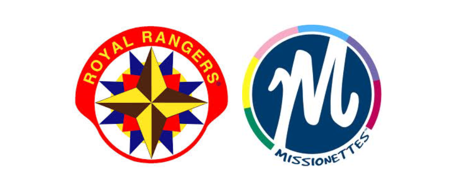 Royal Rangers andMissionettesmeet on alternating Wednesday Nights at 7:30pm in the Chapel.