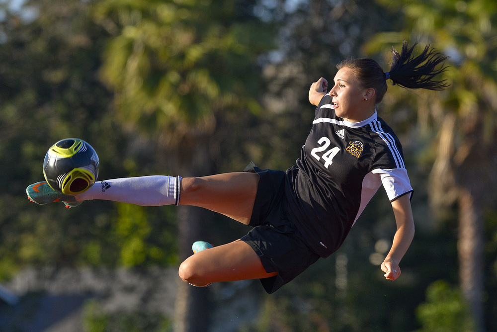 MISSION VIEJO, CA   Capistrano Valley High School's, Alex Hussar, scored a team-high 18 goals en route to becoming the Female Athlete of the Year. Hussar will be attending the University of Pacific where she will be studying pre-med and playing Division 1 soccer.