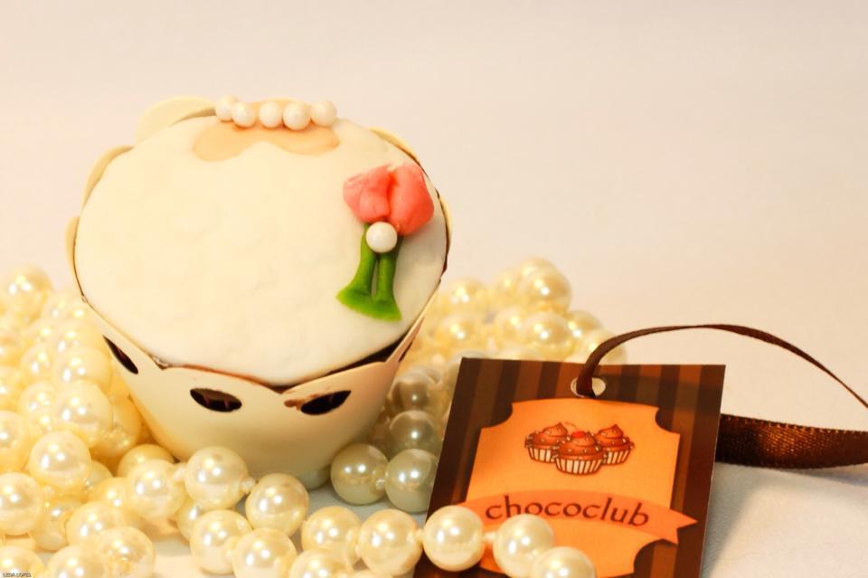 Chococlub: cupcake de noivinha