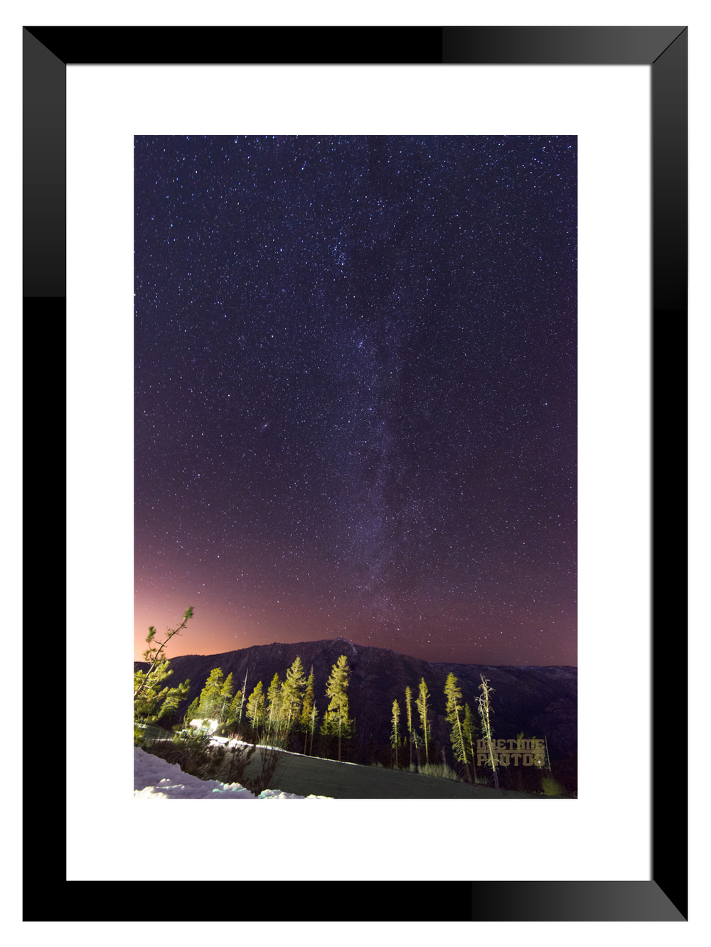 One of the many prints that I have up for sale. Framed to give you an idea on how it will look!