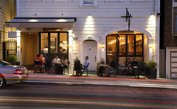 Exterior of Terzo, San Francisco