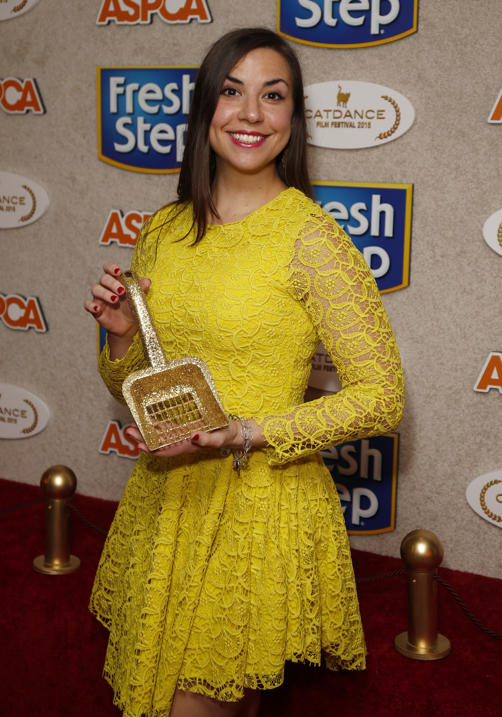 Alana Grelyak with Golden Litter Scoop copy.jpg