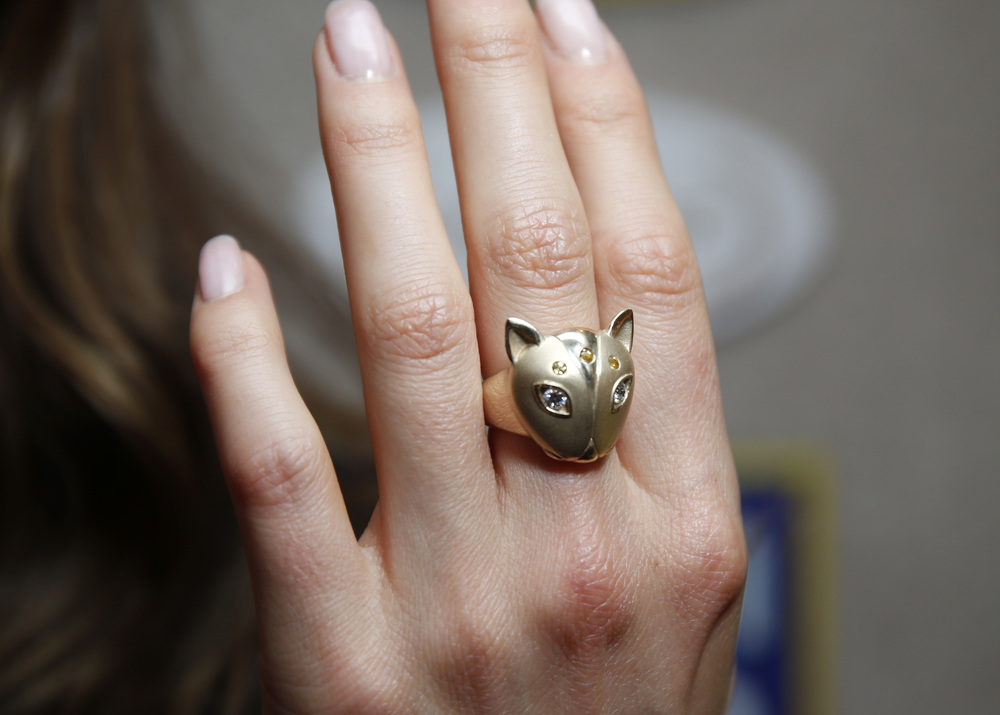 Nikki Reed Wearing Cat Dome Ring to Benefit the ASPCA copy.jpg