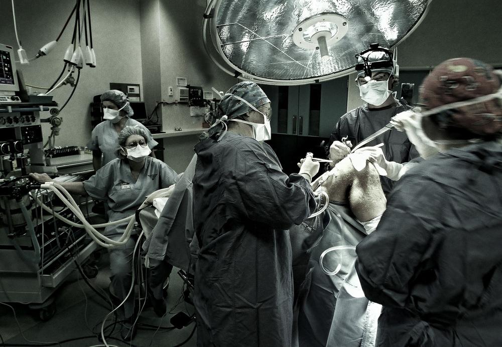 Surgery ACC client